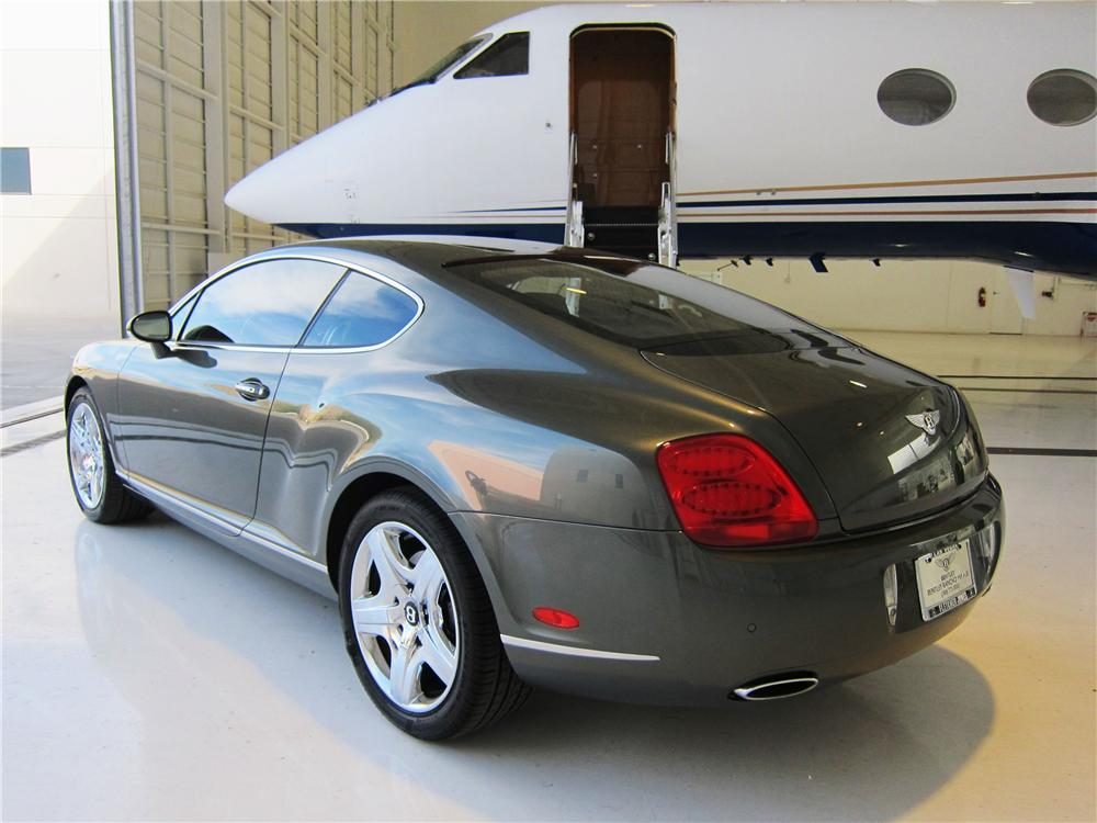 2005 BENTLEY CONTINENTAL GT 2 DOOR COUPE - Rear 3/4 - 170020
