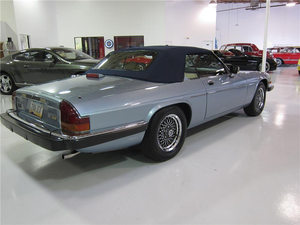 1991 JAGUAR XJS CONVERTIBLE - Rear 3/4 - 170023