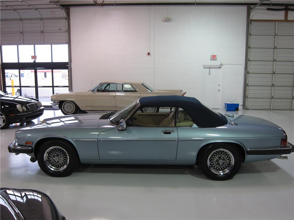 1991 JAGUAR XJS CONVERTIBLE - Side Profile - 170023