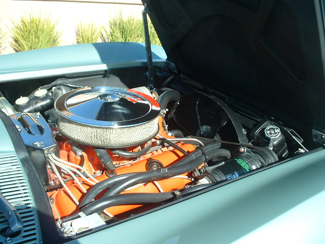 1966 CHEVROLET CORVETTE 2 DOOR COUPE - Engine - 170027