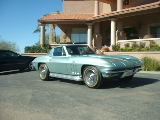 1966 CHEVROLET CORVETTE 2 DOOR COUPE - Side Profile - 170027