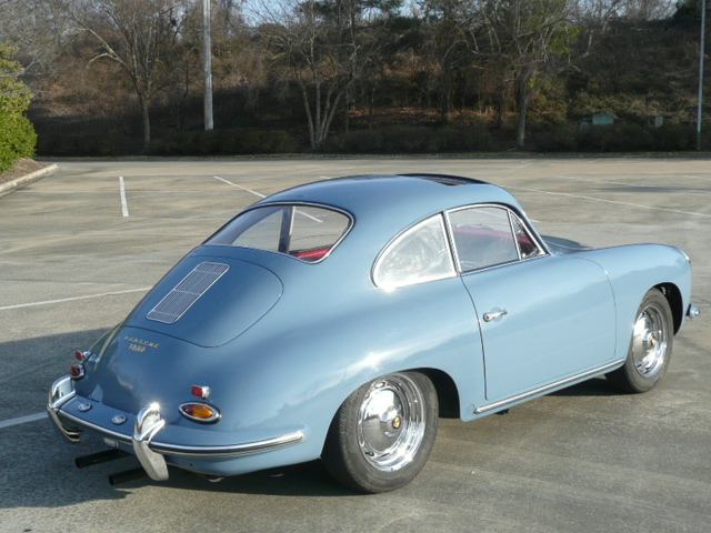 1960 PORSCHE 356B 2 DOOR COUPE - Rear 3/4 - 170028