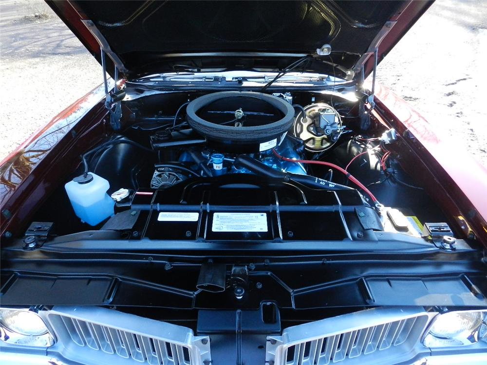 1970 OLDSMOBILE 442 CONVERTIBLE - Engine - 170030