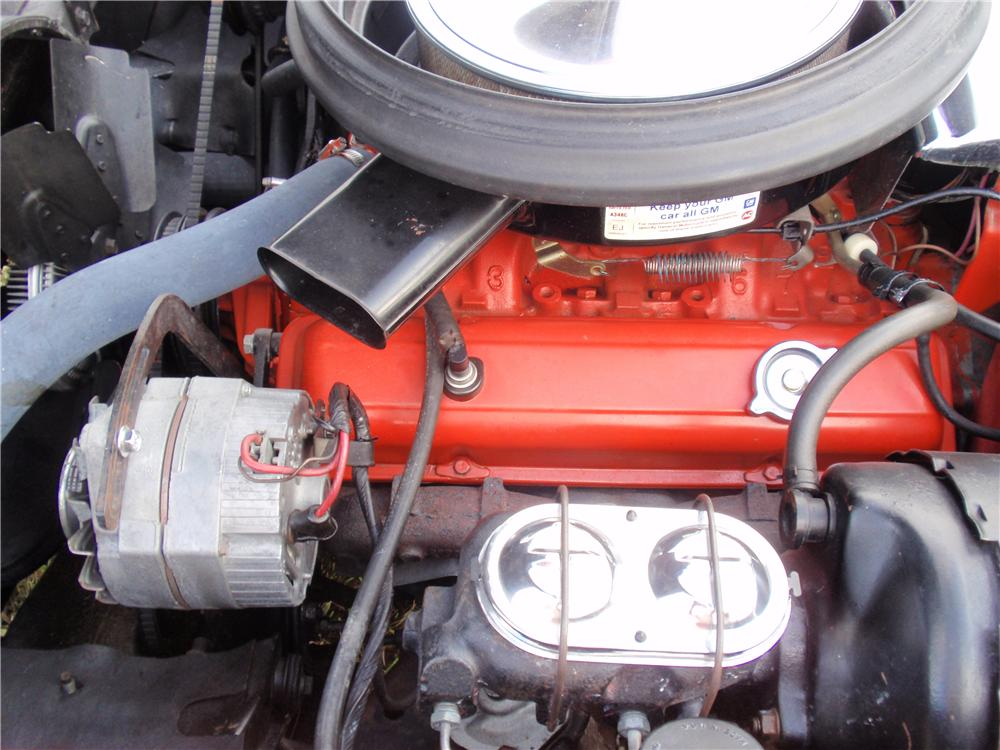 1975 CHEVROLET CORVETTE CONVERTIBLE - Engine - 170037