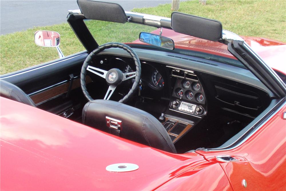1975 CHEVROLET CORVETTE CONVERTIBLE - Interior - 170037