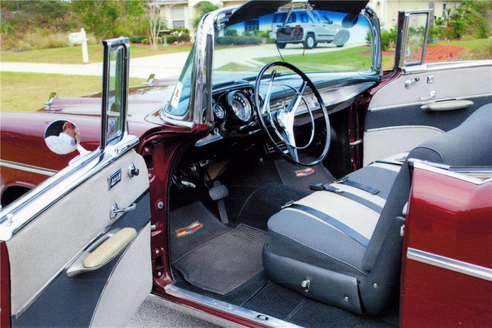 1957 CHEVROLET BEL AIR CUSTOM CONVERTIBLE - Interior - 170040