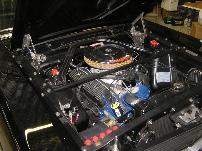 1966 SHELBY GT350 H FASTBACK - Engine - 170044