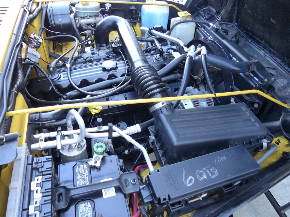2000 JEEP WRANGLER CUSTOM SUV - Engine - 170047