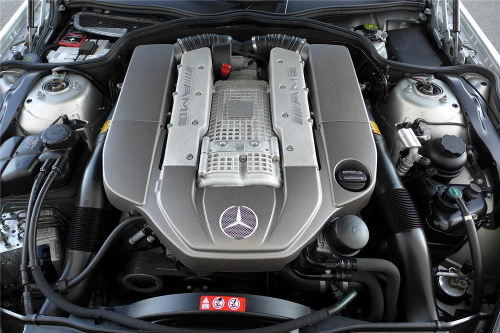 2004 MERCEDES-BENZ SL55 AMG CONVERTIBLE - Engine - 170050