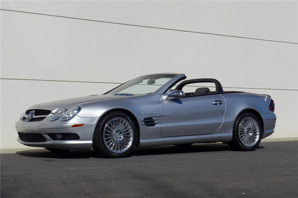2004 mercedes benz sl55 amg convertible 170050