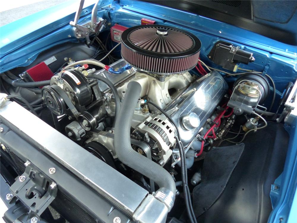 1969 CHEVROLET NOVA SS CUSTOM 2 DOOR COUPE - Engine - 170058