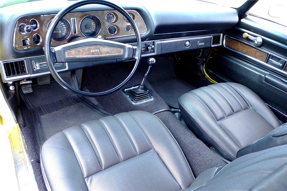 1970 CHEVROLET CAMARO Z/28 RS 2 DOOR COUPE - Interior - 170059