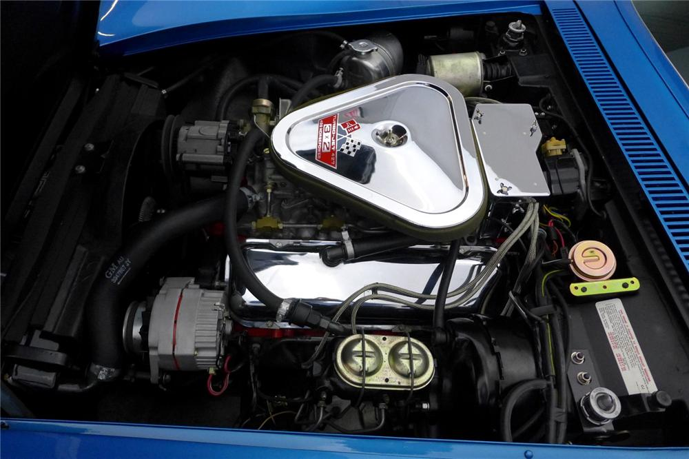 1969 CHEVROLET CORVETTE CONVERTIBLE - Engine - 170061