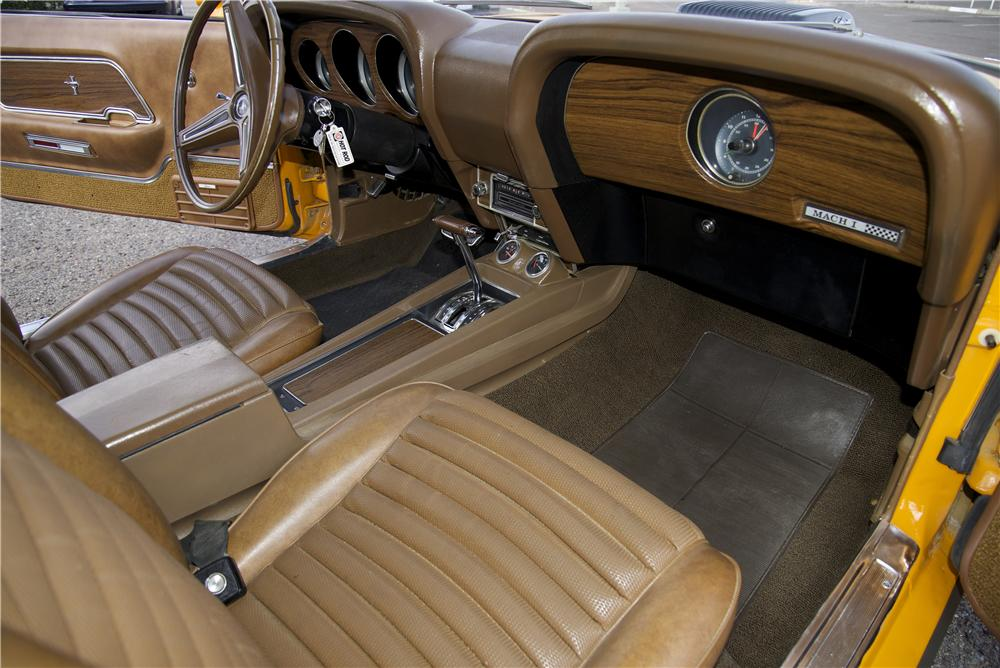 1970 FORD MUSTANG MACH 1 428 CJ FASTBACK - Interior - 170069
