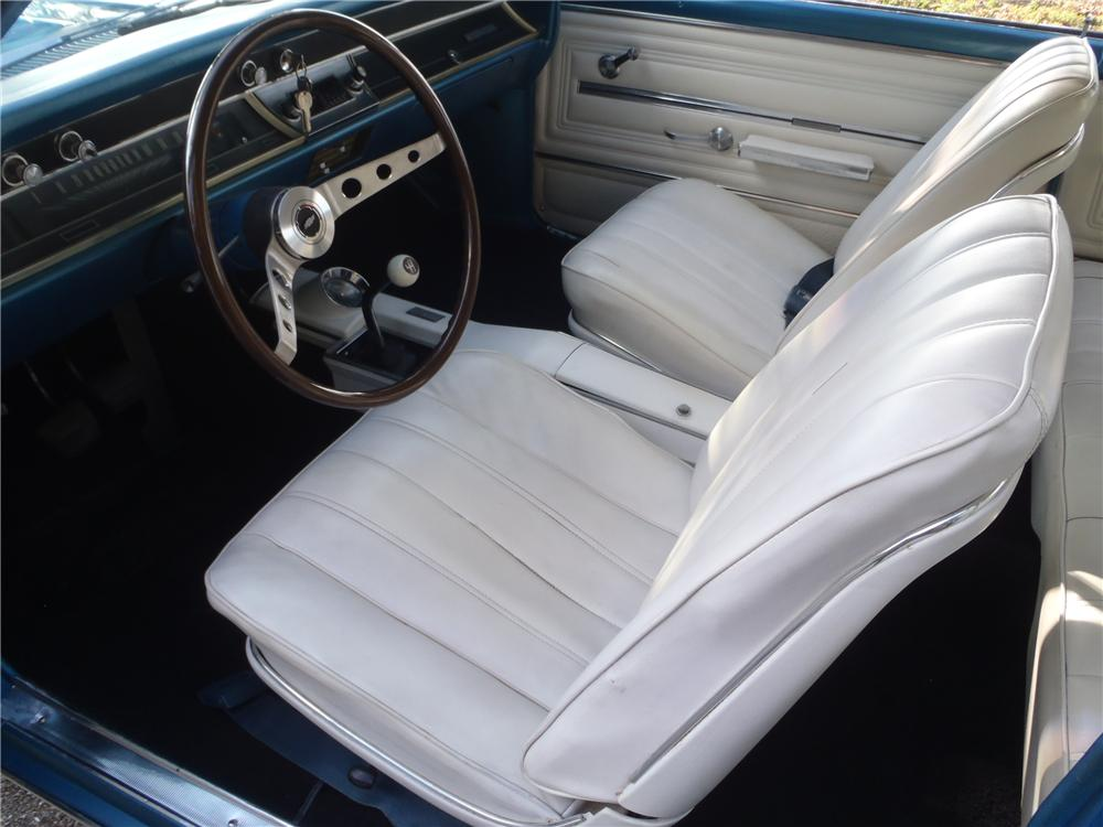 1966 CHEVROLET CHEVELLE SS 396 2 DOOR COUPE - Interior - 170071