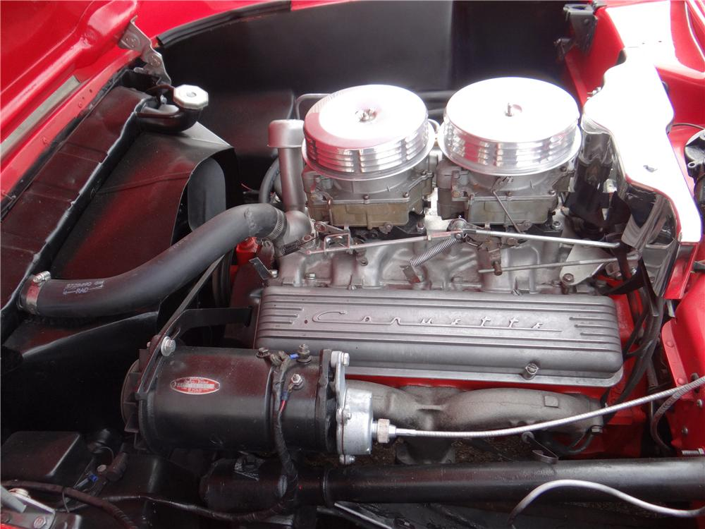 1956 CHEVROLET CORVETTE CONVERTIBLE - Engine - 170072