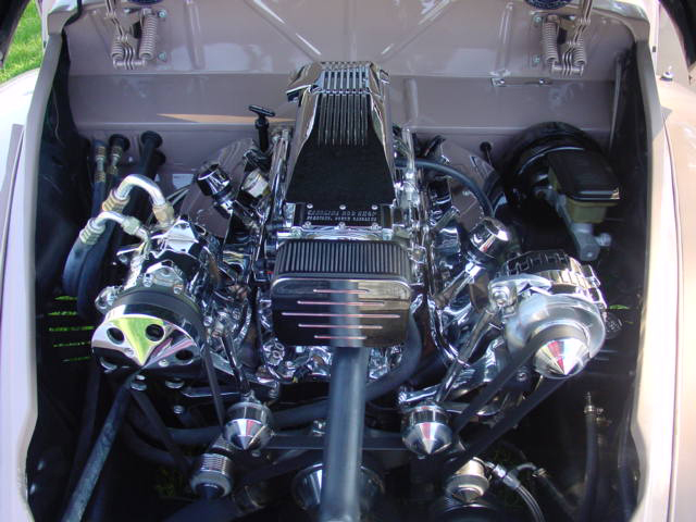 1948 LINCOLN CONTINENTAL CUSTOM CONVERTIBLE - Engine - 170082
