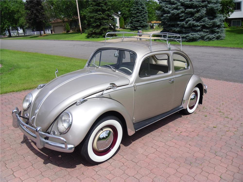 1959 VOLKSWAGEN BEETLE 2 DOOR SEDAN - Front 3/4 - 170091