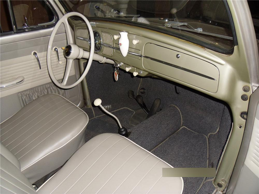 1959 VOLKSWAGEN BEETLE 2 DOOR SEDAN - Interior - 170091