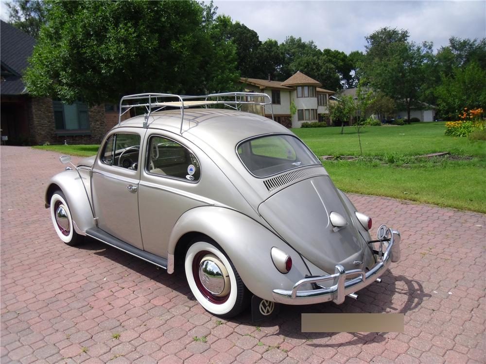 1959 VOLKSWAGEN BEETLE 2 DOOR SEDAN - Rear 3/4 - 170091