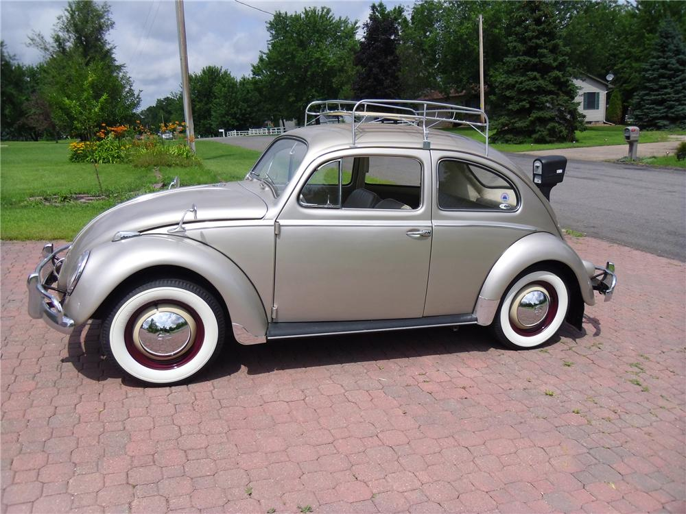 1959 VOLKSWAGEN BEETLE 2 DOOR SEDAN - Side Profile - 170091