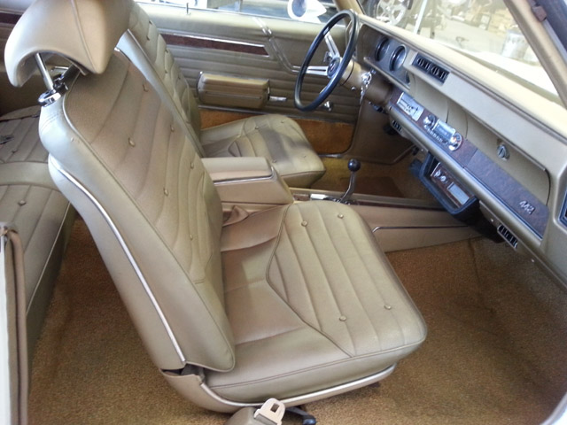 1970 OLDSMOBILE 442 W30 2 DOOR COUPE - Interior - 170092