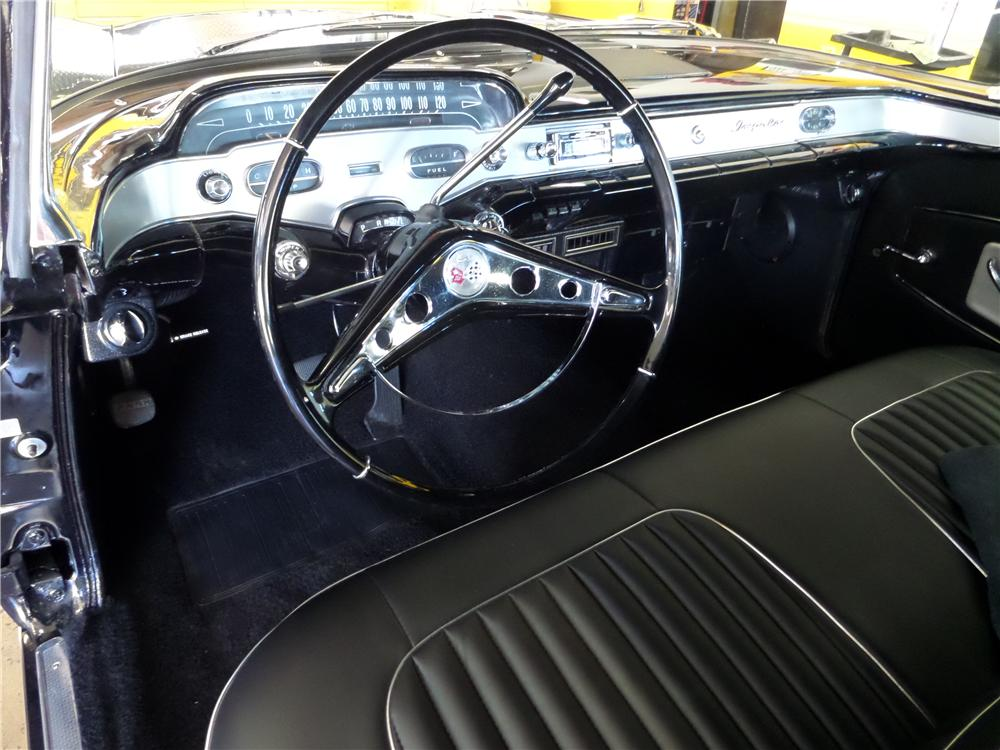 1958 CHEVROLET IMPALA CUSTOM 2 DOOR HARDTOP - Interior - 170097