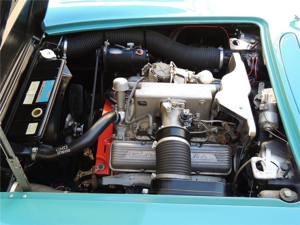 1960 CHEVROLET CORVETTE CONVERTIBLE - Engine - 170100