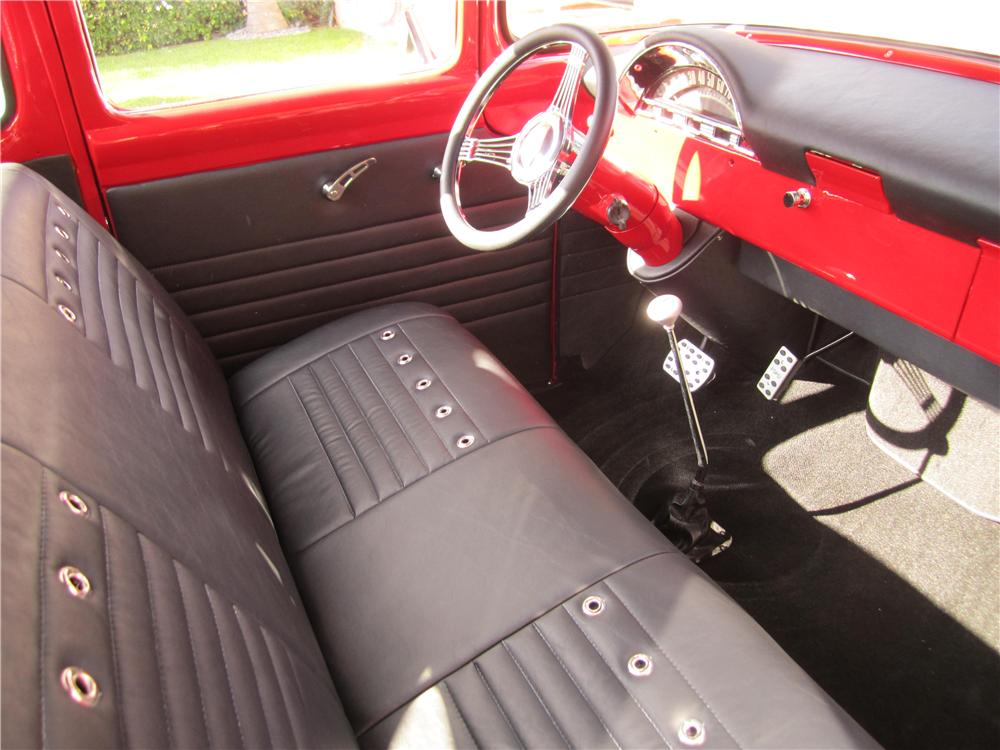 1956 FORD F-100 CUSTOM PICKUP - Interior - 170104