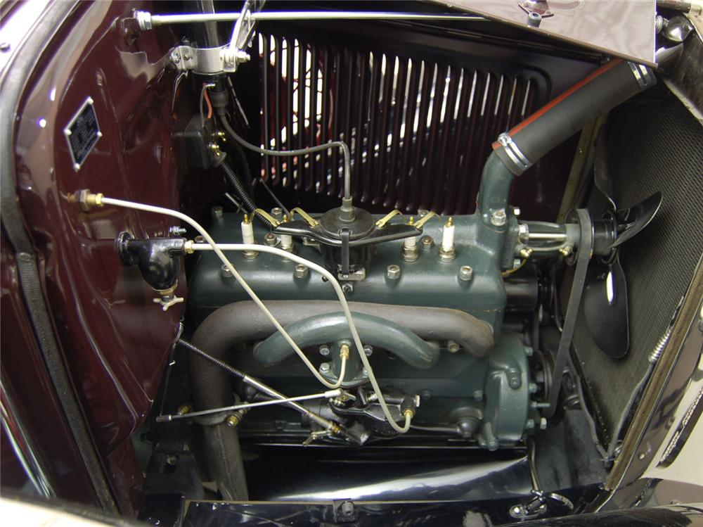 1930 FORD MODEL A PICKUP - Engine - 170107