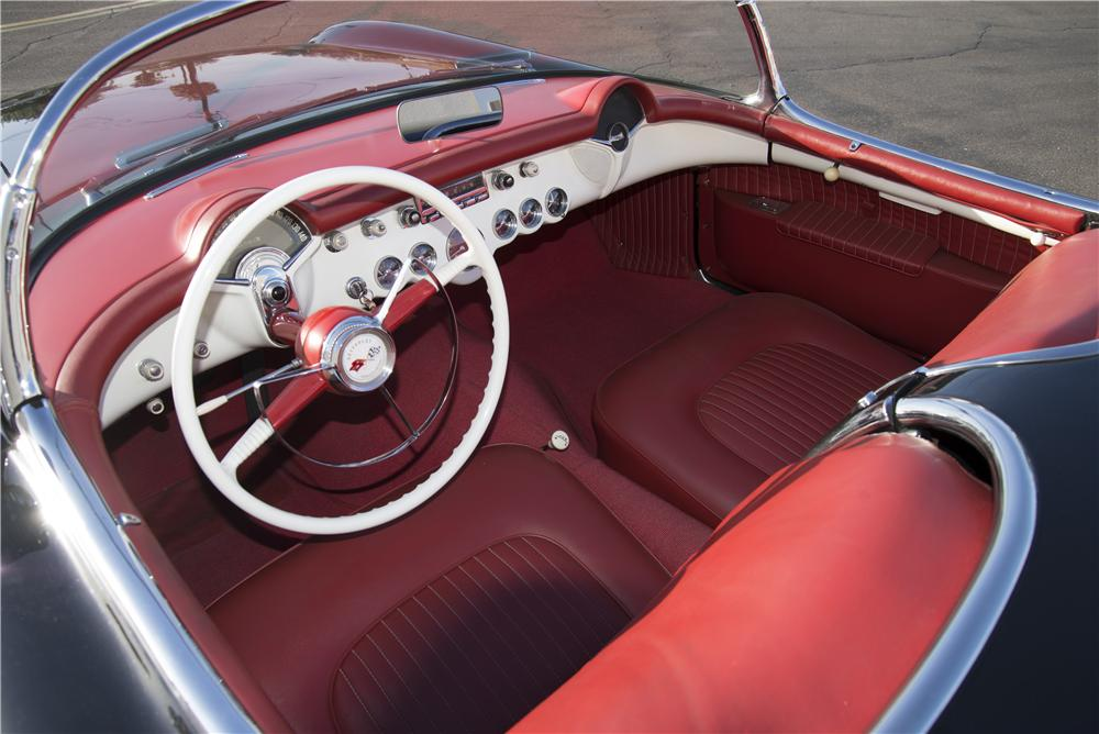 1954 CHEVROLET CORVETTE CONVERTIBLE - Interior - 170108