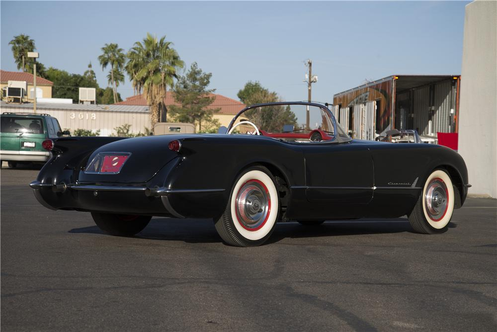 1954 CHEVROLET CORVETTE CONVERTIBLE - Rear 3/4 - 170108