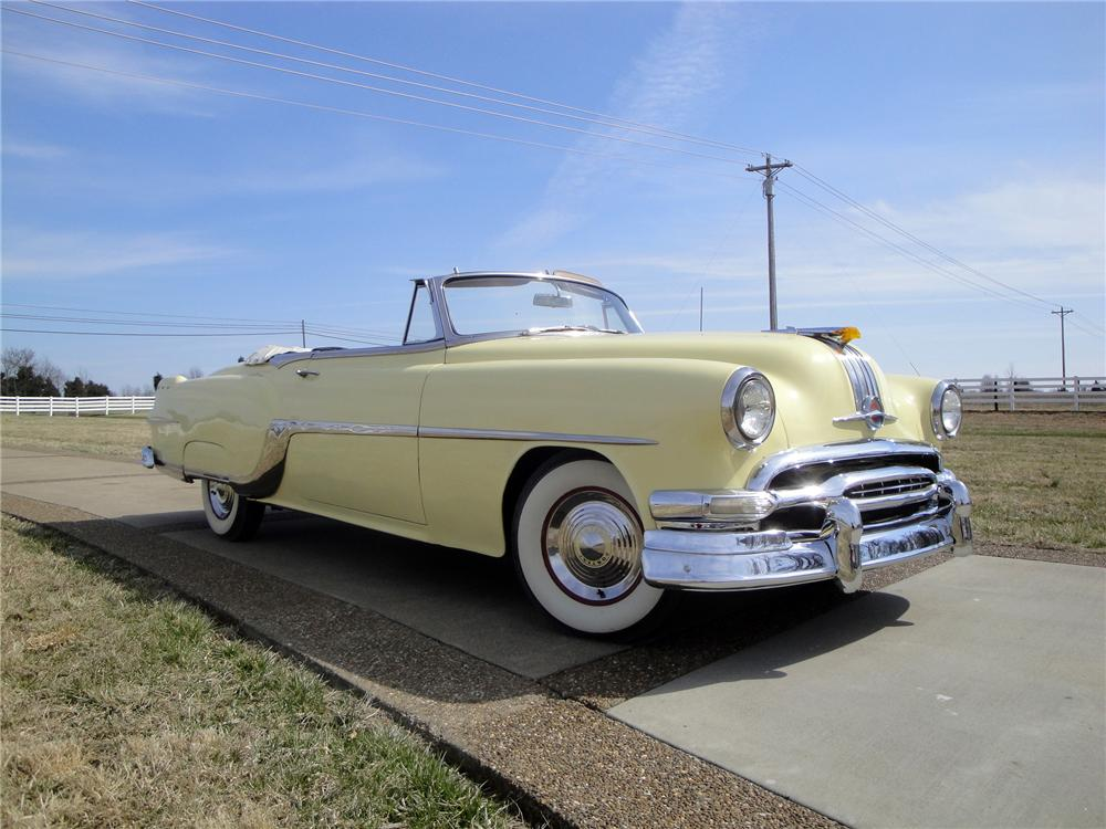 1954 PONTIAC STAR CHIEF CONVERTIBLE - Front 3/4 - 170109