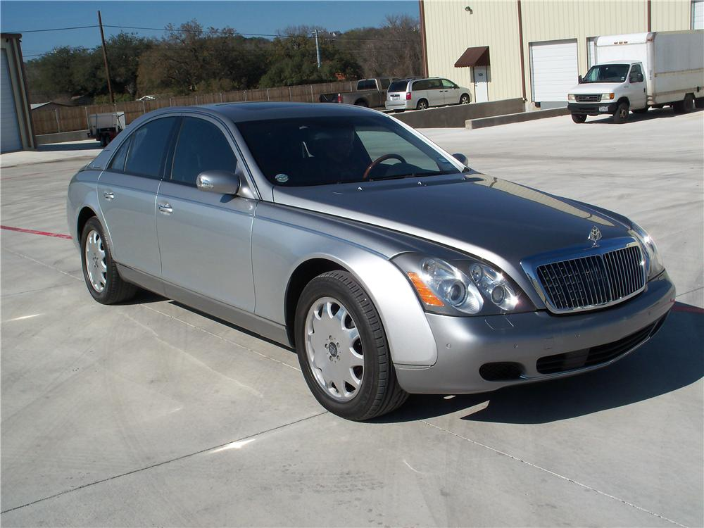 2005 MAYBACH 57 4 DOOR SEDAN - Front 3/4 - 170110