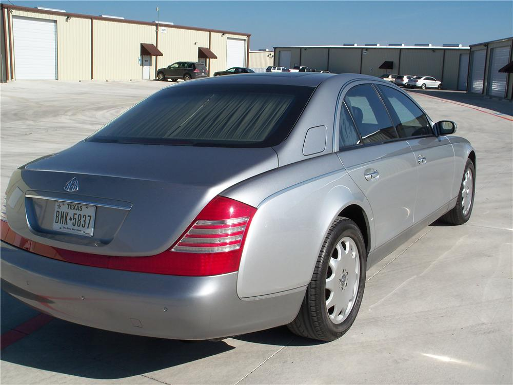 2005 MAYBACH 57 4 DOOR SEDAN - Rear 3/4 - 170110