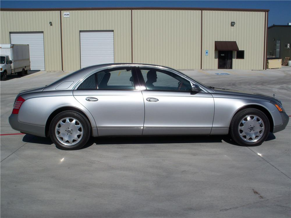 2005 MAYBACH 57 4 DOOR SEDAN - Side Profile - 170110