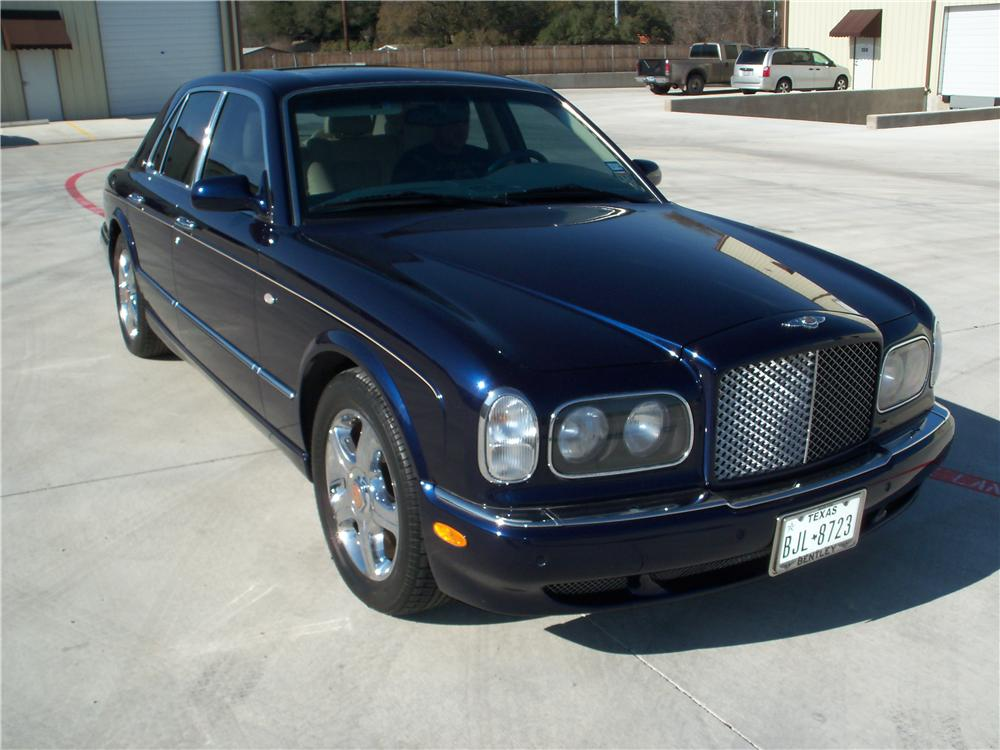 2003 BENTLEY ARNAGE 4 DOOR SEDAN - Front 3/4 - 170113