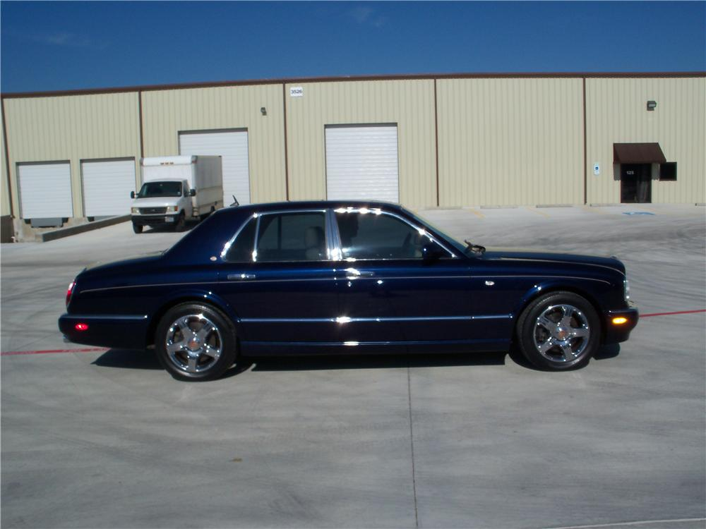 2003 BENTLEY ARNAGE 4 DOOR SEDAN - Side Profile - 170113