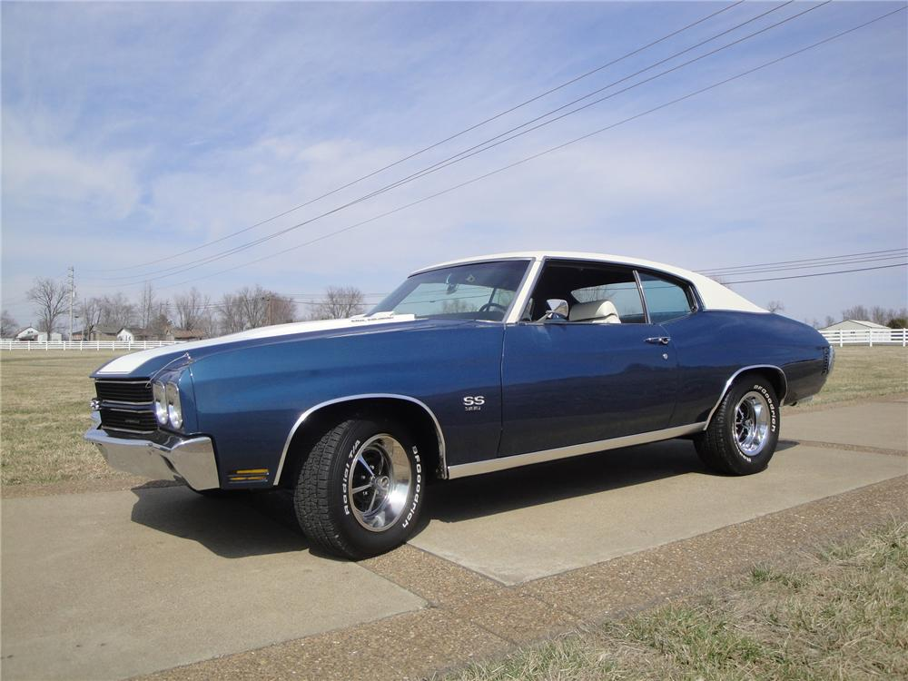1970 chevrolet chevelle malibu ss 2 door coupe 170114. Black Bedroom Furniture Sets. Home Design Ideas
