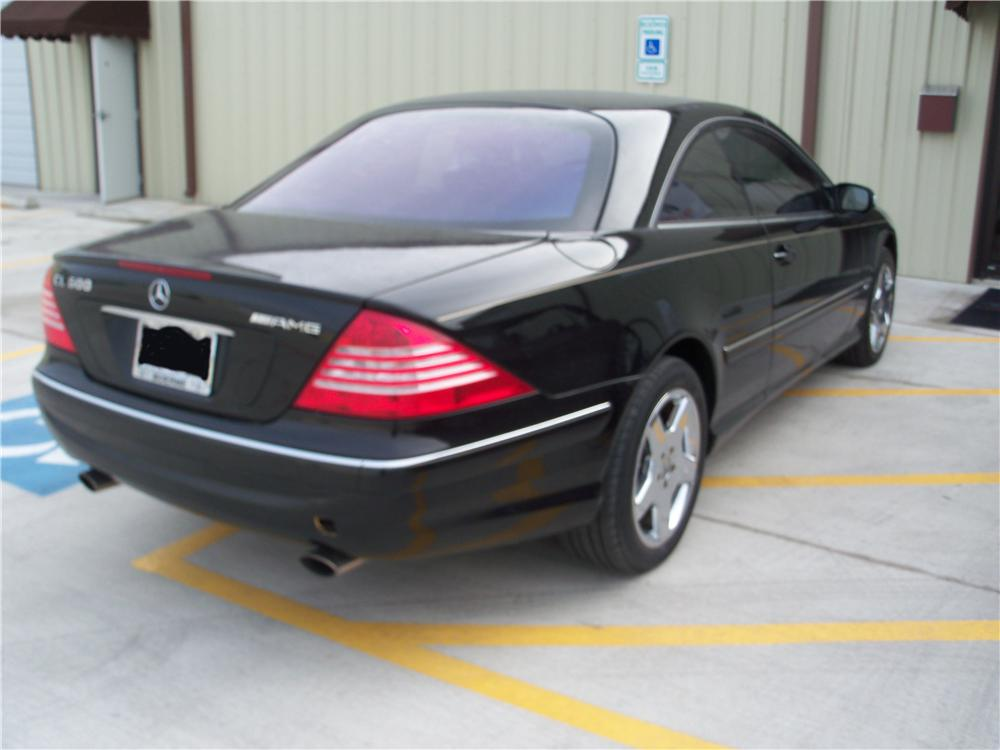 2005 MERCEDES-BENZ CL600 2 DOOR HARDTOP - Rear 3/4 - 170120