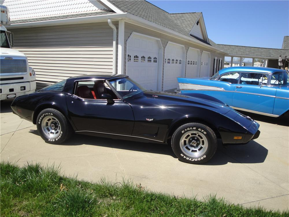 1978 CHEVROLET CORVETTE 2 DOOR COUPE - Front 3/4 - 170121