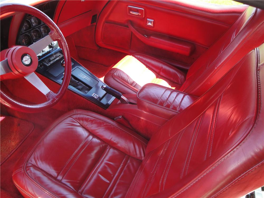 1978 CHEVROLET CORVETTE 2 DOOR COUPE - Interior - 170121