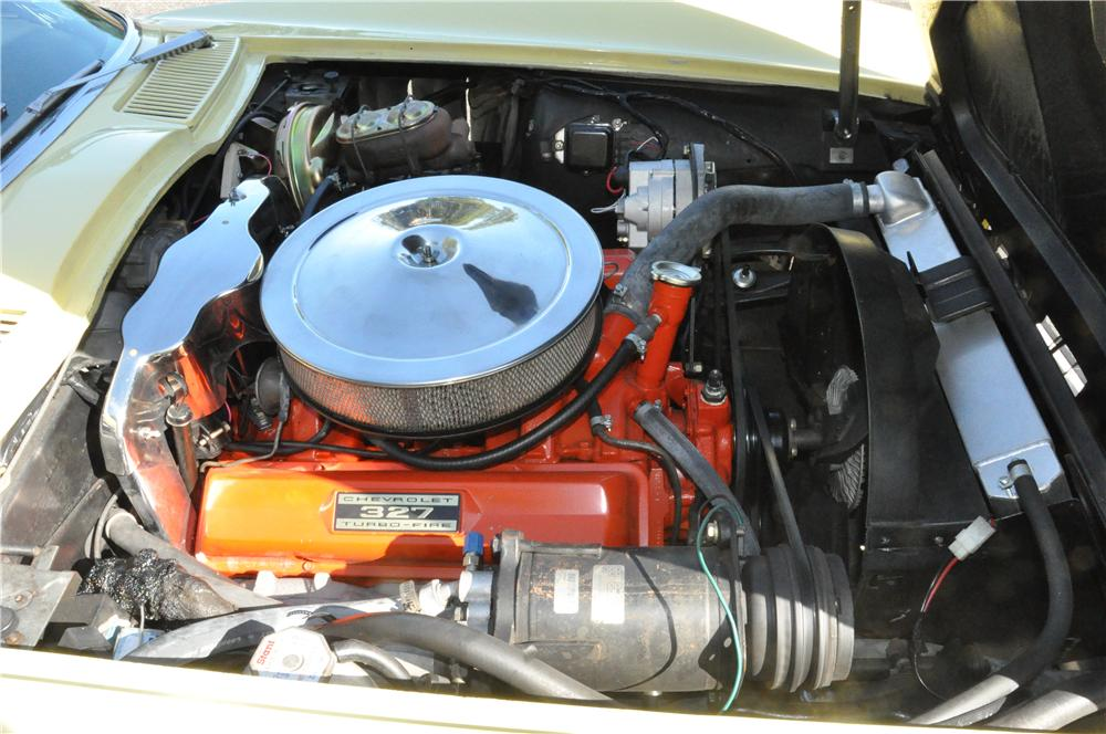 1966 CHEVROLET CORVETTE CONVERTIBLE - Engine - 170132