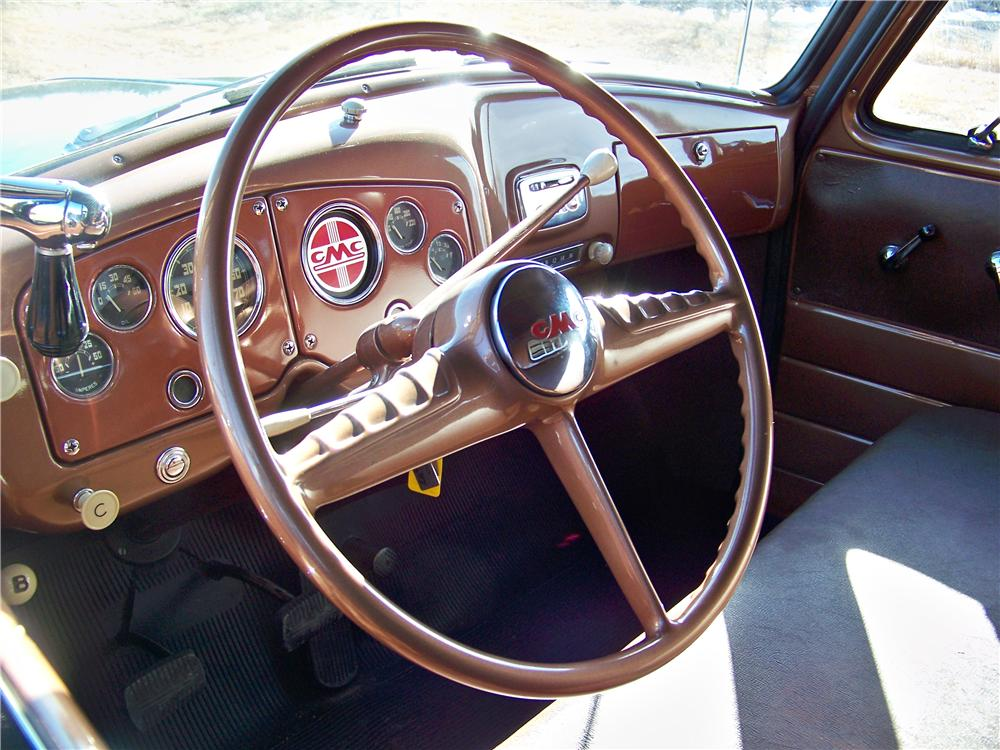 1954 GMC 100 CANOPY EXPRESS - Interior - 170138