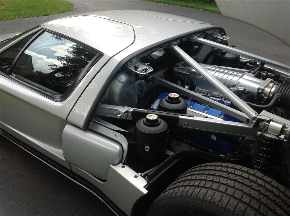 Ford Gt  Door Coupe Engine