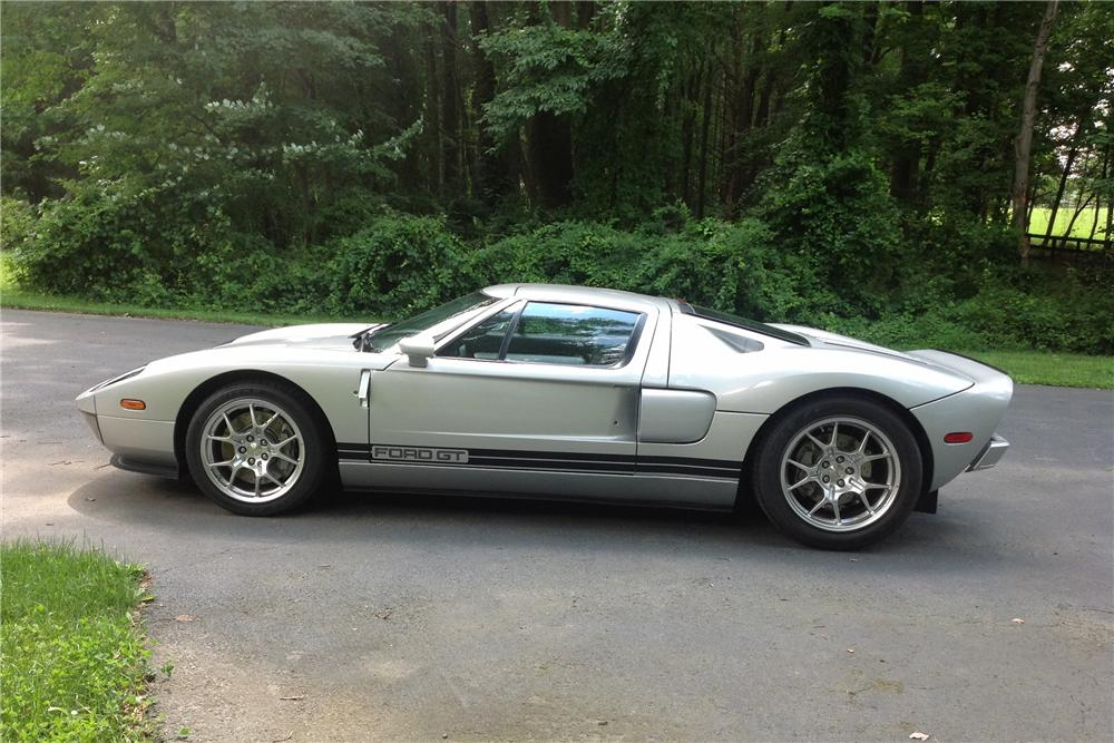 2005 FORD GT 2 DOOR COUPE - Side Profile - 170142