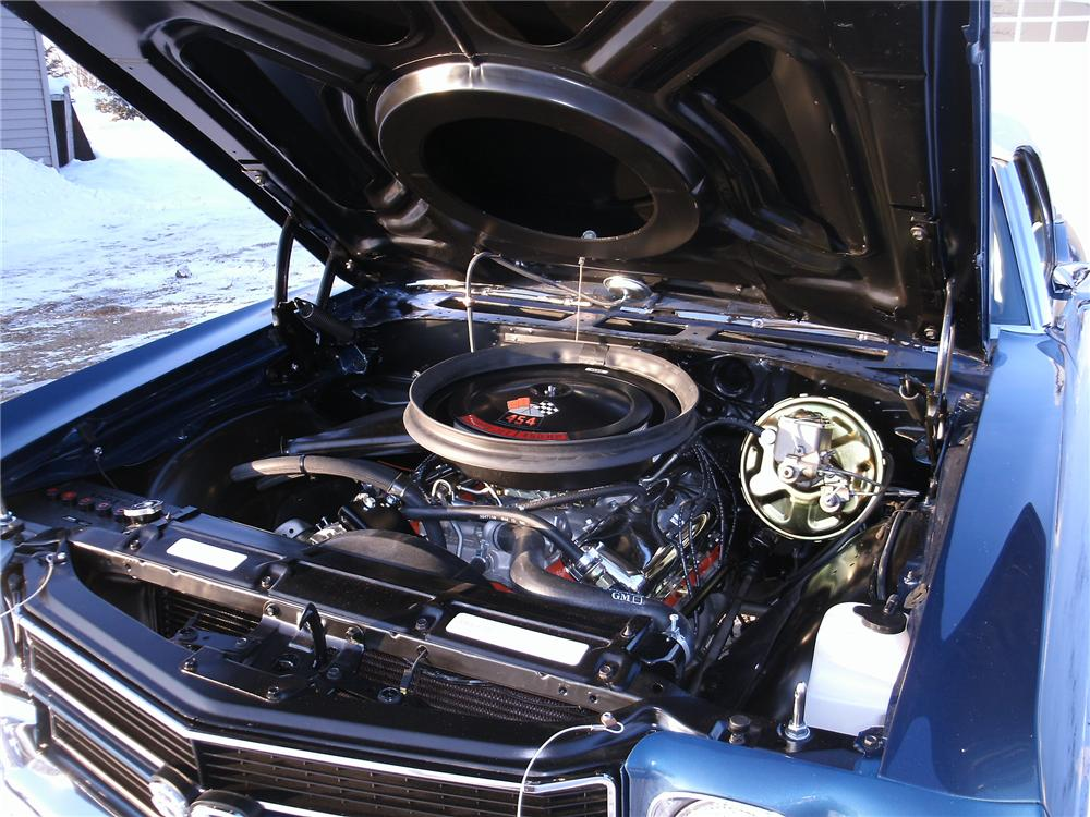 1970 CHEVROLET CHEVELLE SS CONVERTIBLE - Engine - 170145