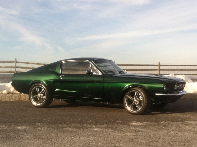 1968 FORD MUSTANG CUSTOM FASTBACK - Front 3/4 - 170148