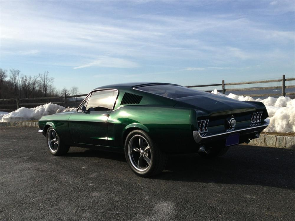 1968 Ford Mustang Custom Fastback 170148