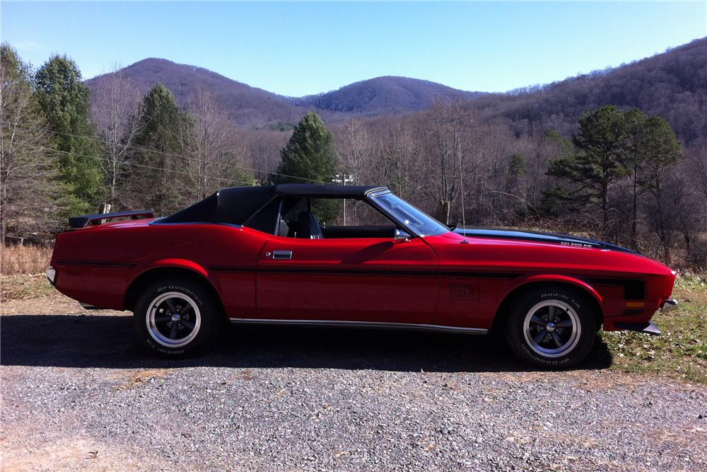 1971 FORD MUSTANG CONVERTIBLE - 170149
